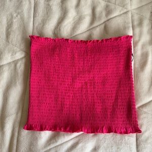 H&M pink tube top